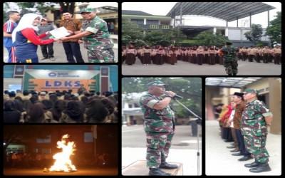 Memupuk Jiwa Kepemimpinan, Kedisiplinan Diri Dan Cinta Tanah Air Bagi Peserta Didik Melalui Kegiatan Latihan Dasar Kepemimpinan Siswa (LDKS) SMK Al-Muhtadin Tahun 2019